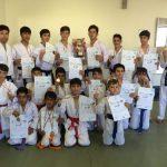 کانون شهید فهمیده قیدار قهرمان مسابقات کاراته کشور شد+تصویر