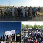 همایش بزرگ پیادهروی خانوادگی در شهرستان خدابنده برگزار شد+تصاویر