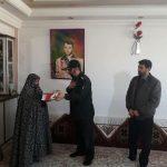 دیدار با خانوادههای شهدا موجب عزت انسان میشود/دیدار فرمانده سپاه خدابنده با خانواده دو شهید+تصاویر