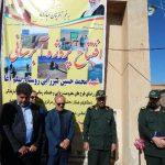 افتتاح پروژه های محرومیت زدائی در خدابنده+تصاویر