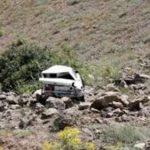 سقوط خودرو به دره با یک کشته در خدابنده