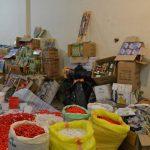 کشف ۲۲۰هزار عدد مواد محترقه قاچاق در خدابنده