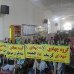 شرکت گروه های جهادی در رزمایش اقتدار عاشورایی سپاهیان محمد رسول الله(ص)در خدابنده+تصاویر