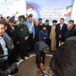 بیمارستان ۲۲۰ تختخوابی رسول اکرم خدابنده با حضور وزیر بهداشت کلنگ زنی شد+تصاویر