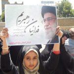 حضور پر شور کودکان خدابنده ای در راهپیمایی۲۲بهمن+تصاویر