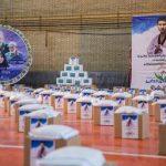 ۱۰۰۰ بسته معیشتی بین نیازمندان خدابنده توزیع شد